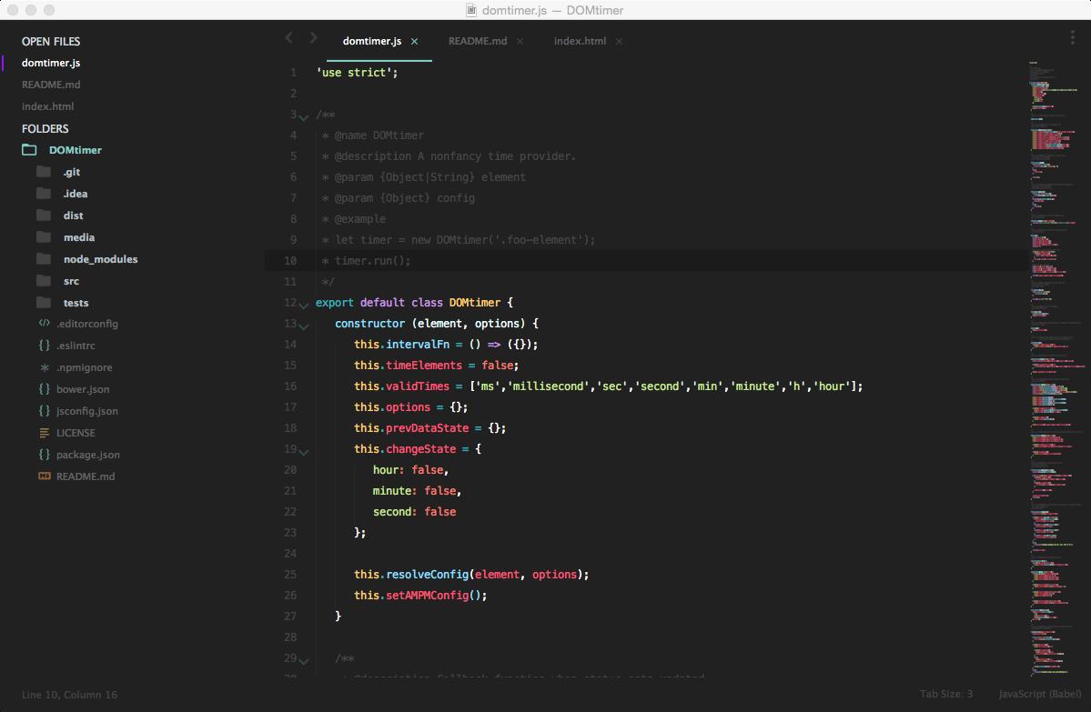 Adding the ECMAScript 6 flavour to your IDE